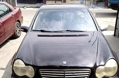 Neat Nigerian Used Mercedes-Benz C240 2003 Black