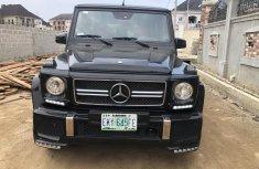 Super Clean Nigerian Used Mercedes-Benz G-Class 2005 Black