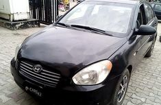 Perfect Nigerian Used100Hyundai Accent 2008 Black