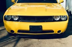 Super Cool Tokunbo Dodge Challenger 2012 Yellow