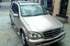 Well Maintained Nigerian used 2003 Mercedes-Benz ML350
