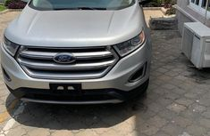Neat Foreign Used Ford Edge 2016 Grey/Silver