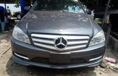 Neat Tokunbo Mercedes-Benz C350 2008 Grey/Silver