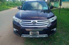 Very Clean Nigerian used Toyota Highlander 2013