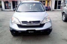 Clean Nigerian Used Honda CR-V 2008 Grey/Silver