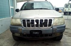 Super Neat Nigerian Used Jeep Cherokee 2003 Gold