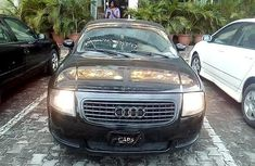 Neat Nigerian Used  Audi TT Manual  1999 Black