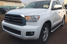 Clean Foreign Used Toyota Sequoia 2008 White