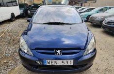 Clean Tokunbo Peugeot 307 2008 Blue