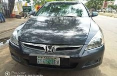 Neat Nigerian Used Honda Accord 2005 Grey/Silver