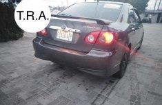 Spotless Nigerian Used Toyota Corolla 2005