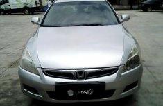 Properly maintained Nigerian used Honda Accord 2007