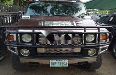 Super Clean Nigerian Used Hummer H2 2006