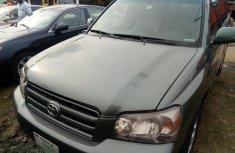 Neat Nigerian Used Toyota Highlander 2005 Green
