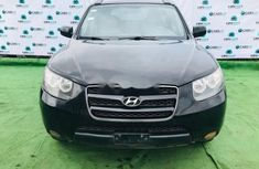 Clean Nigerian Used Hyundai Santa Fe 2008 Black