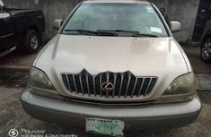 Neat Nigerian Used Lexus RX 2000 Gold