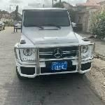 Neat Foreign Used Mercedes-Benz G63 2016 White