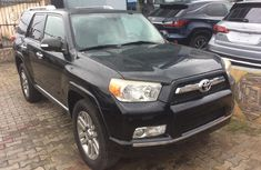 Clean Foreign Used Toyota 4-Runner 2010 Black