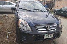 Spotless Nigerian Used Honda CR-V 2006 Blue