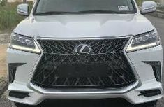 Neat Foreign Used Lexus LX 2016 White
