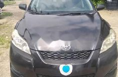 Clean Foreign Used Toyota Matrix 2009 Black