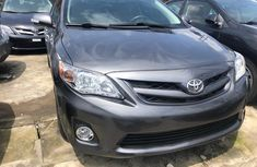 Clean Foreign Used Toyota Corolla 2013 Grey/Silver