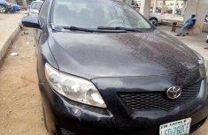 Very Spotless Nigerian used Toyota Corolla 2009