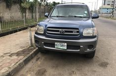 Properly maintained Nigerian used 2001 Toyota Sequoia