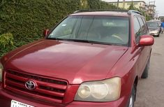 Nigerian Used 2003 Toyota Highlander For sale in Surulere