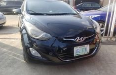 Neat Nigerian Used Hyundai Elantra 2012 Black