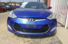 Clean Nigerian Used Hyundai Veloster 2014 Blue