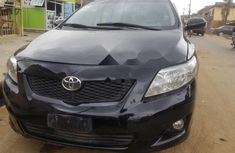 Clean Nigerian Used Toyota Corolla 2009 Black
