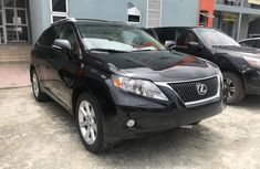 Neat Foreign Used Lexus RX 2012 Black