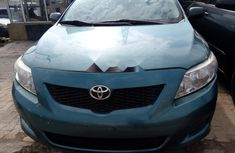 Neat Foreign Used Toyota Corolla 2009 Green