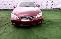 Neat Nigerian Used Lexus ES 2007 Red