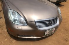 Neat Foreign Used  Lexus SC 2005 Gold