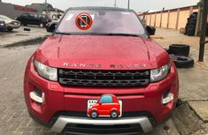 Properly maintained Nigerian used Land Rover Range Rover Evoque 2014