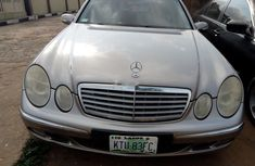 Properly maintained Nigerian used Mercedes-Benz E200 Petrol