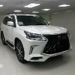Clean Foreign Used Lexus LX 2018 White