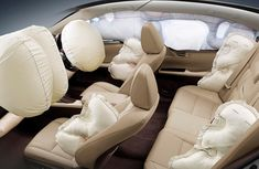 Notes about most important safety devices: airbags & seatbelts