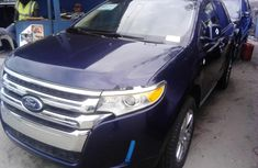 Clean Foreign Used Ford Edge 2013 Blue
