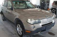 Clean Foreign Used BMW X3 2007 Gold