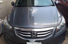 Clean Nigerian Used Honda Accord 2012 Grey/Silver