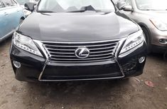 Clean Foreign Used Lexus RX 2014 Black