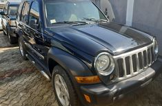 Clean Foreign Used Jeep Liberty 2006 Black
