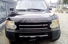 Clean Nigerian Used Land Rover LR3 2005 Black