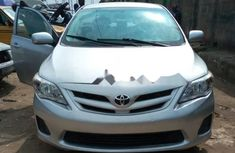 Clean Tokunbo Toyota Corolla 2012 Grey/Silver