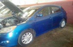 Neat Nigerian Used Toyota Matrix 2009 Blue