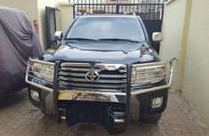 Clean Foreign Used Toyota Land Cruiser 2014 Black
