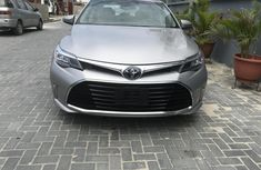 Neat Foreign Used Toyota Avalon 2016 Grey/Silver